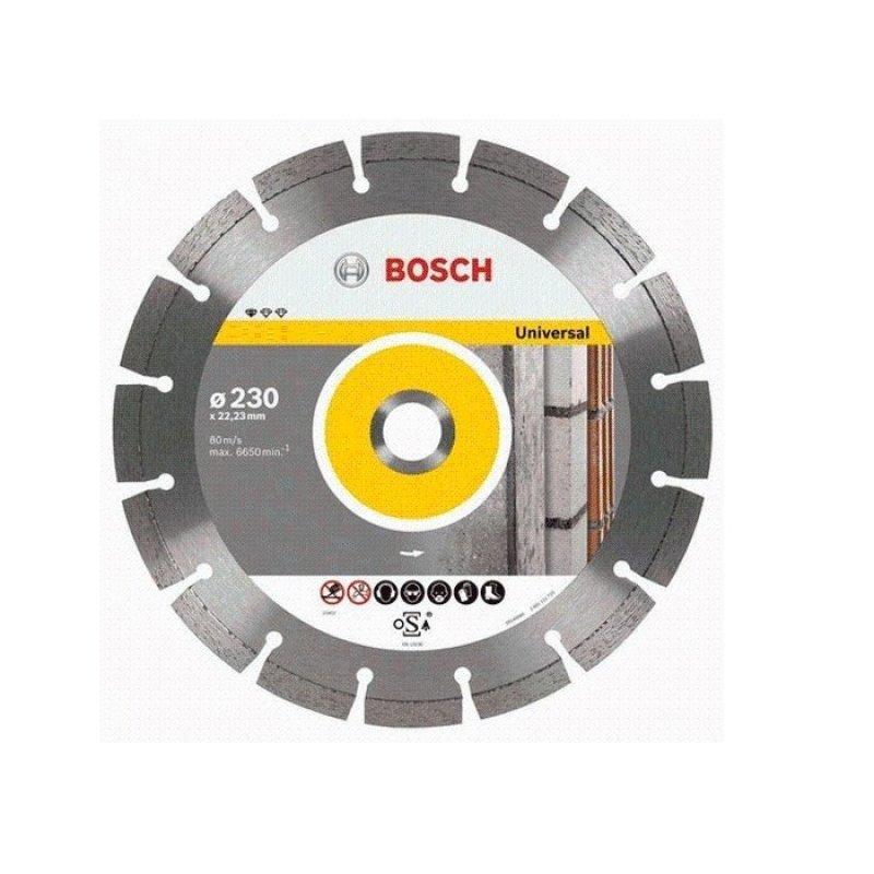 Đĩa cắt đa năng Bosch 2608602192 125 x 1.6 x 22.2mm (Xám)