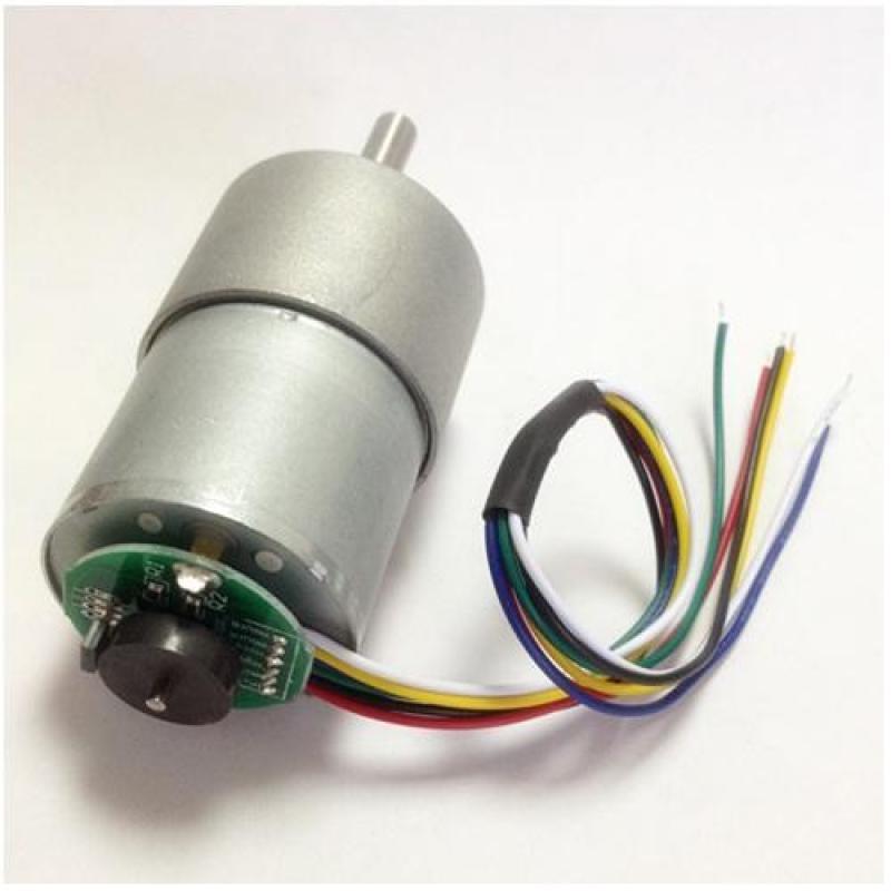 Bảng giá Mua Động Cơ Encoder Giảm Tốc GB37-3530 ( DC12V - 1/43.8 - 251RPM )