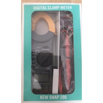 Đồng hồ ampe kìm kyoritsu KT200