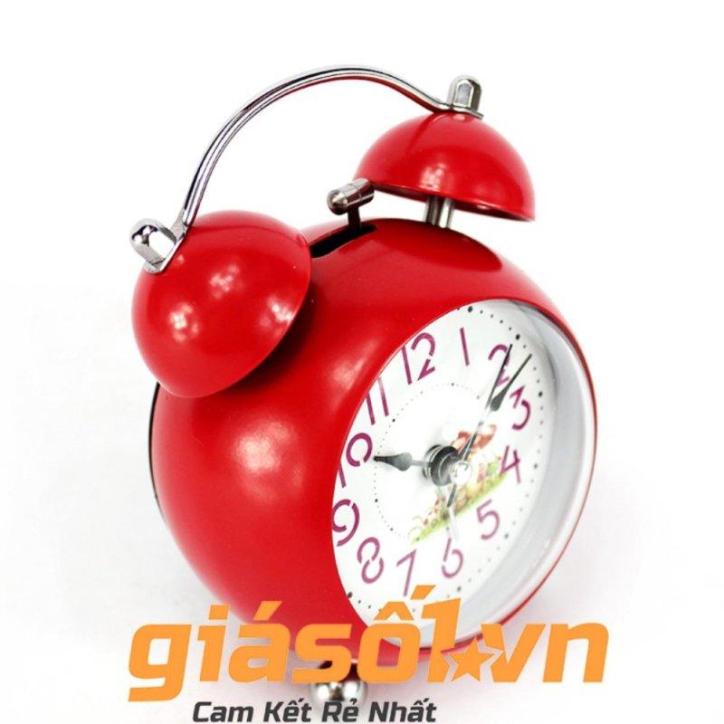 Đông hồ báo thức Clock - 6058 (Đỏ dưa hấu) bán chạy