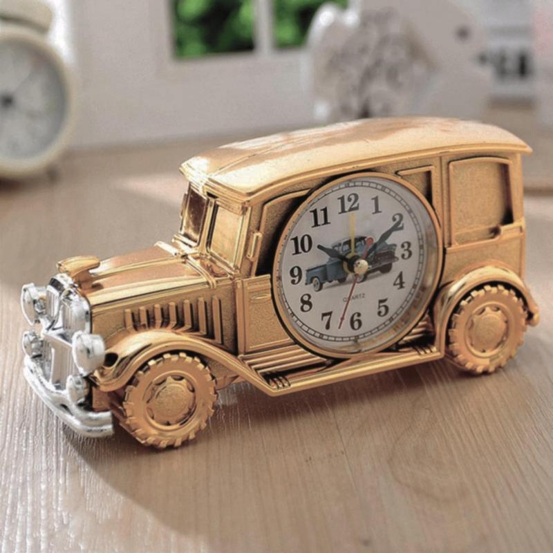 Nơi bán Đồng hồ báo thức CLOCK CLASSIC CAR CH555A (Vàng)