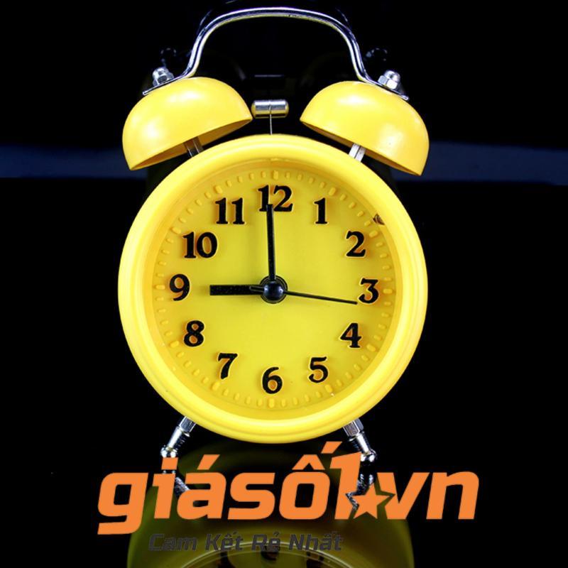 Đồng hồ báo thức để bàn - 2863 (Vàng) bán chạy