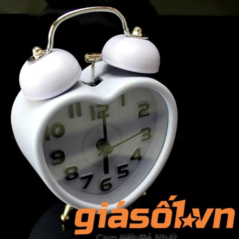 Nơi bán Đồng hồ báo thức để bàn 2867 (Trắng)