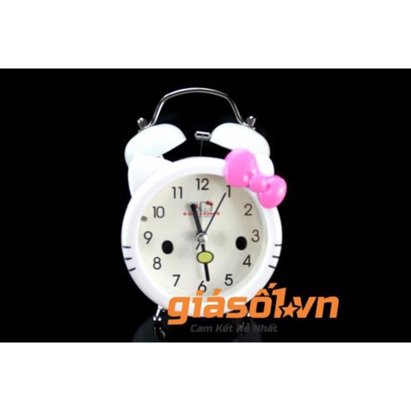 Nơi bán Đồng hồ báo thức để bàn cho bé 17063 (Trắng Hồng)