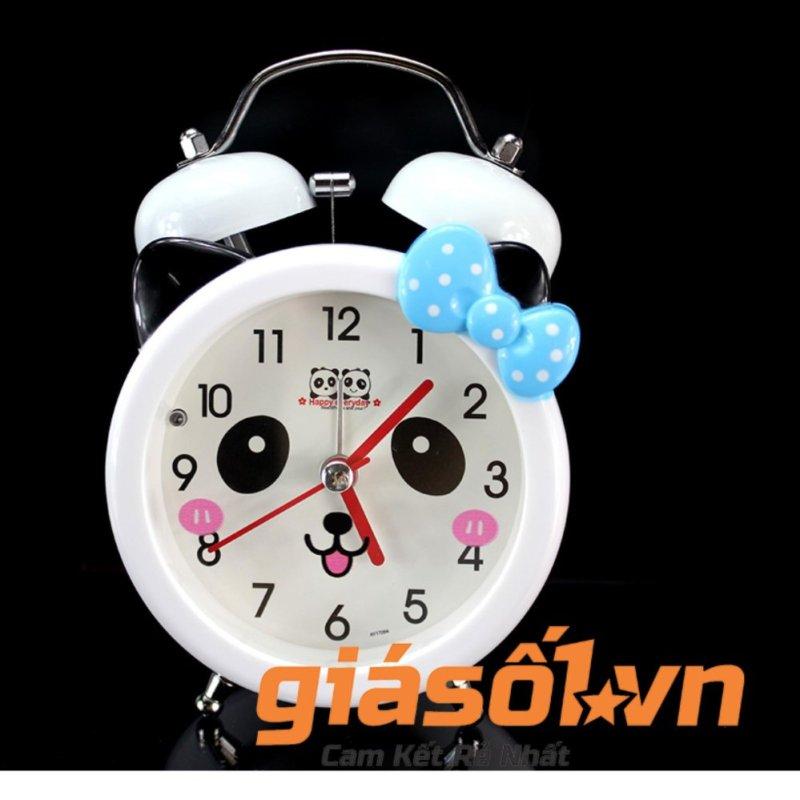 Nơi bán Đồng hồ báo thức để bàn cho bé 17064 (Nơ xanh dương)