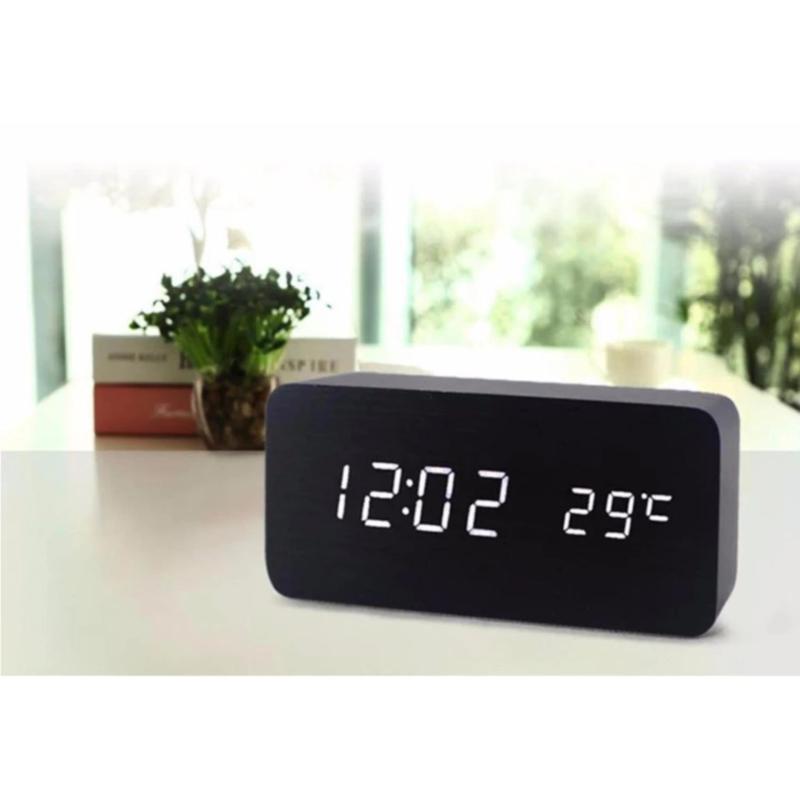 Nơi bán Đồng hồ báo thức để bàn chữ nhật - House Mart