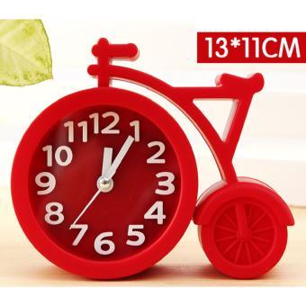 Đồng hồ báo thức để bàn hình xe đạp - Smart Choice