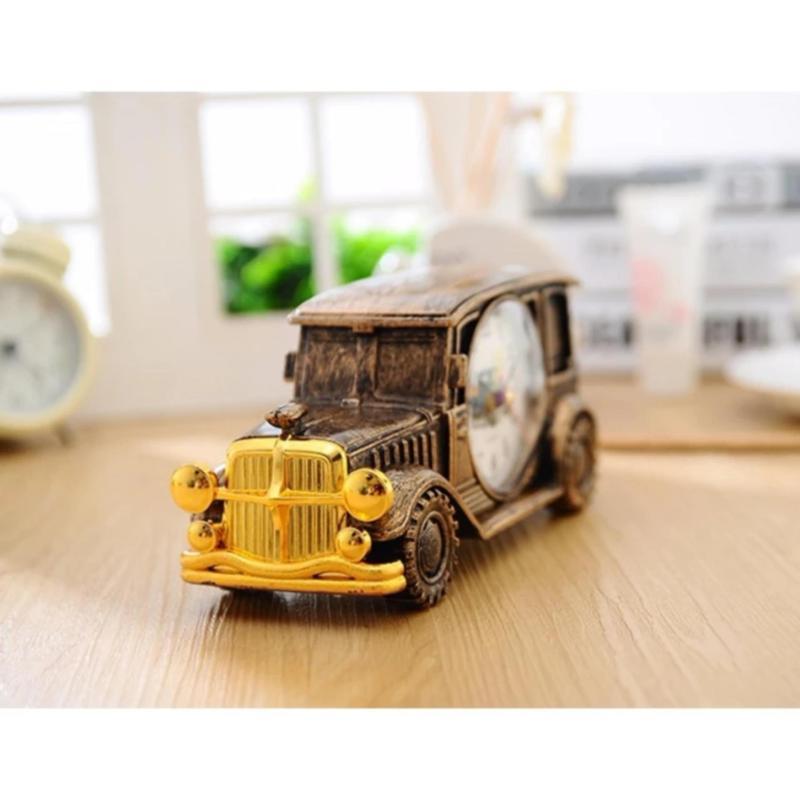 Nơi bán Đồng hồ báo thức để bàn hình xe hơi phong cách cổ điển,cực kì sang trọng vati x01