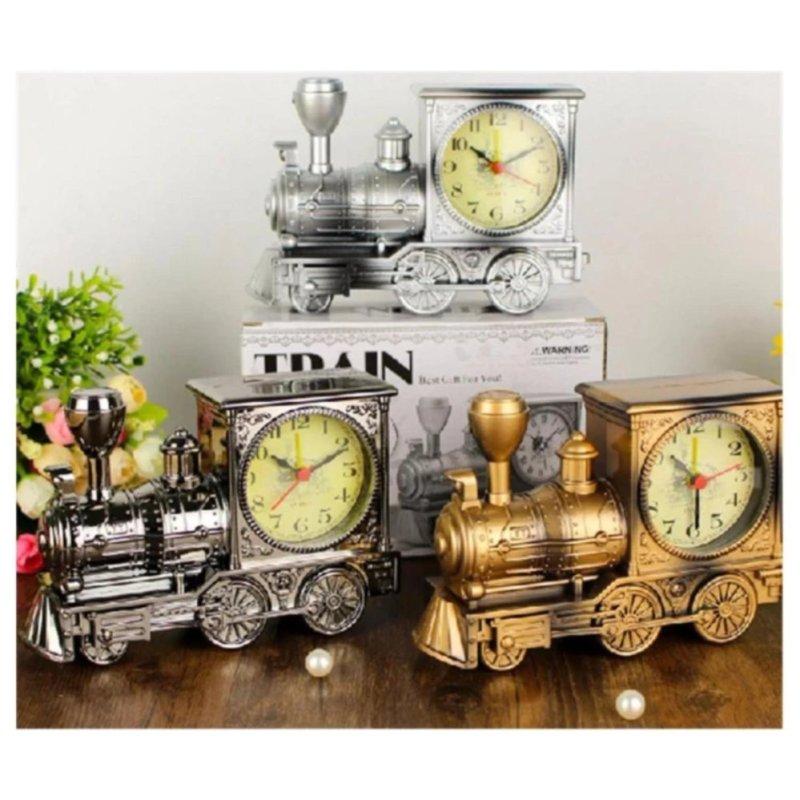 Nơi bán Đồng hồ báo thức để bàn kiểu dáng xe lửa