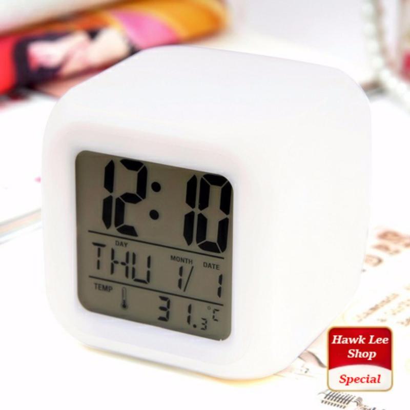 Đồng hồ báo thức để bàn - LED đổi màu cực đẹp bán chạy