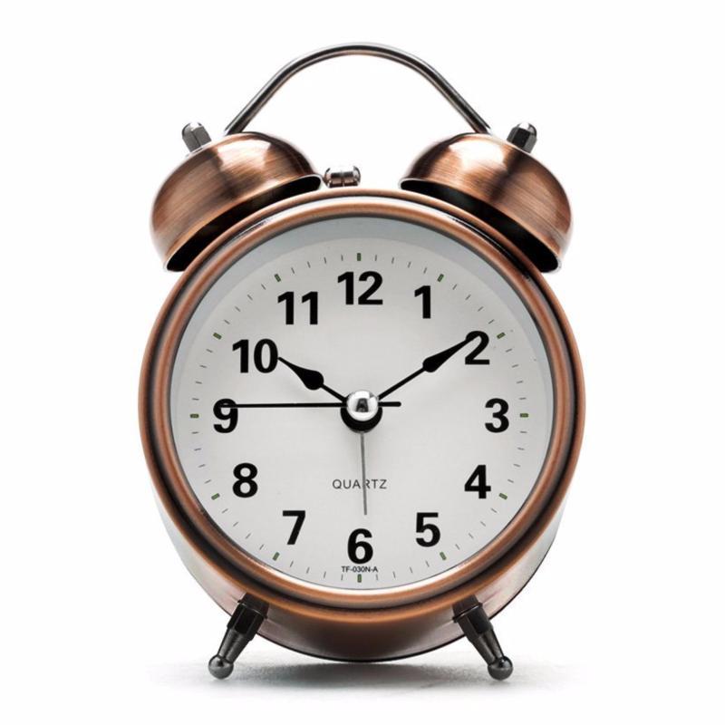 Đồng hồ báo thức để bàn (Màu đồng) bán chạy