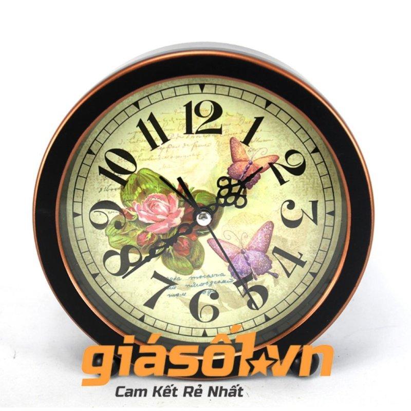 Nơi bán Đồng hồ báo thức G51 hình con bướm (Đen)