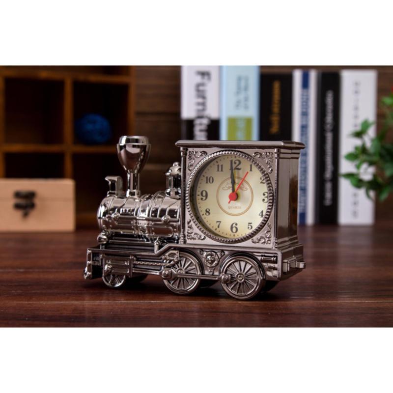 Nơi bán Đồng hồ báo thức hình tàu hỏa YY7688-1 (XÁM)