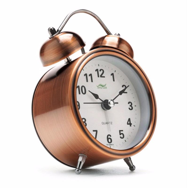 Nơi bán Đồng hô báo thức mini để bàn chuyên dụng cao cấp History Alarm (Nâu)
