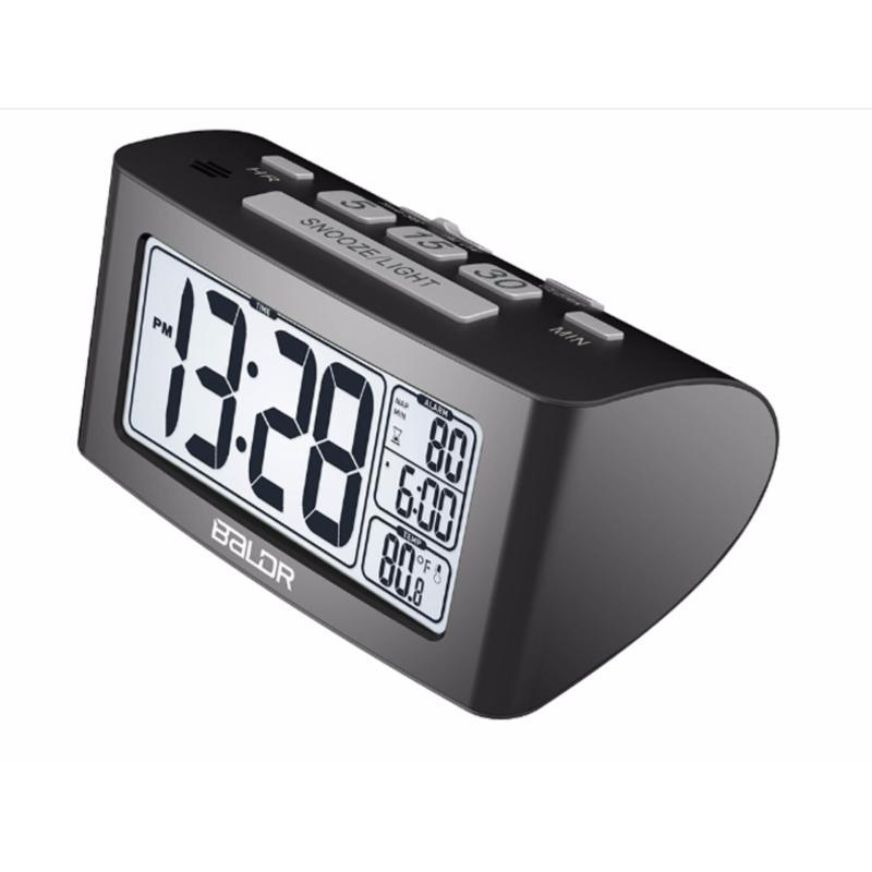 Nơi bán Đồng hồ để bàn báo thức điện tử kiêm nhiệt kế  B0117ST