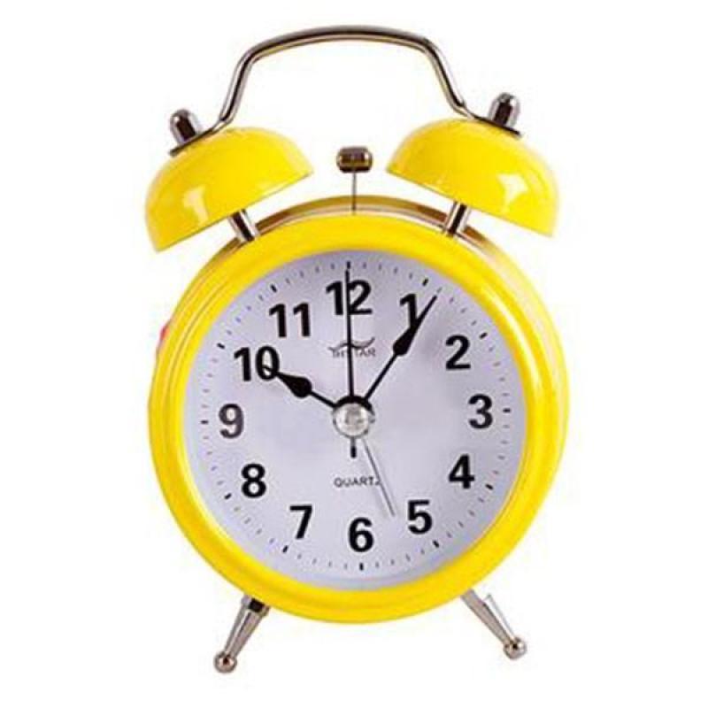 Đồng hồ để bàn báo thức hiệu mini alarm đẹp ( Vàng ) GD32 bán chạy