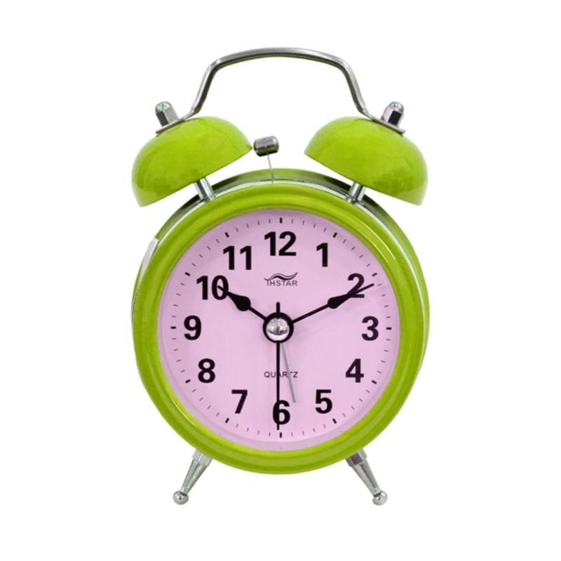 Nơi bán Đồng hồ để bàn báo thức hiệu mini alarm đẹp ( Xanh Lá Cây ) GK33