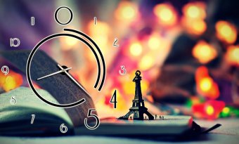 Đồng hồ để bàn Paris lung linh Suemall DB140704