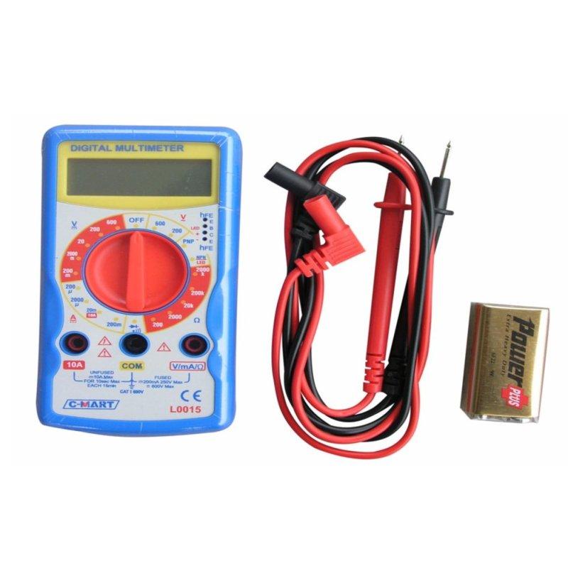 Bảng giá Mua Đồng hồ đo điện C-MART L0015(Blue)