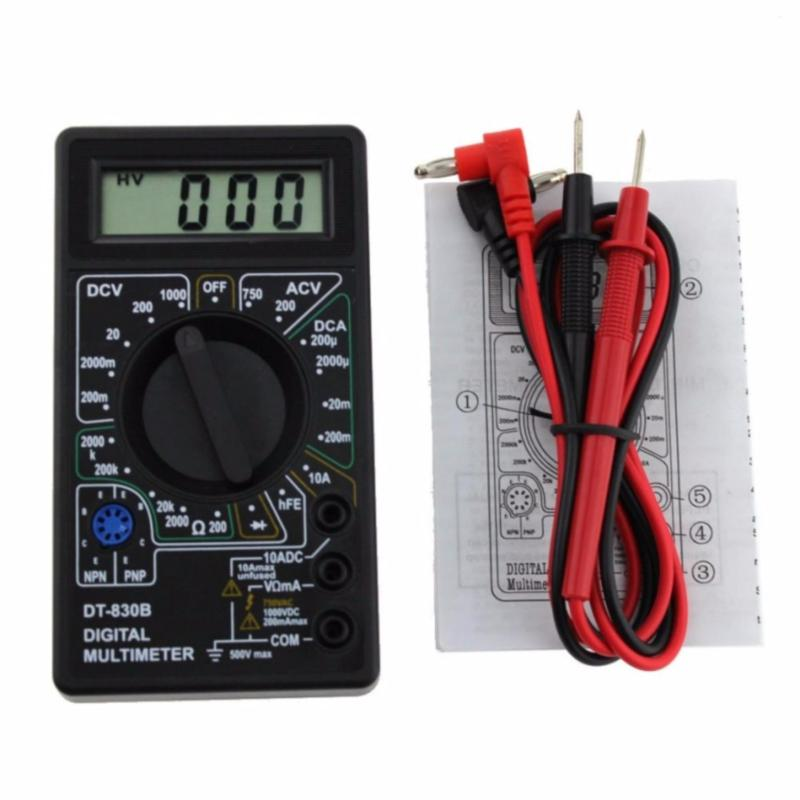 Đồng hồ đo điện Volt Ohm Amp AC/DC đa năng Digital Multimeter DT-830B