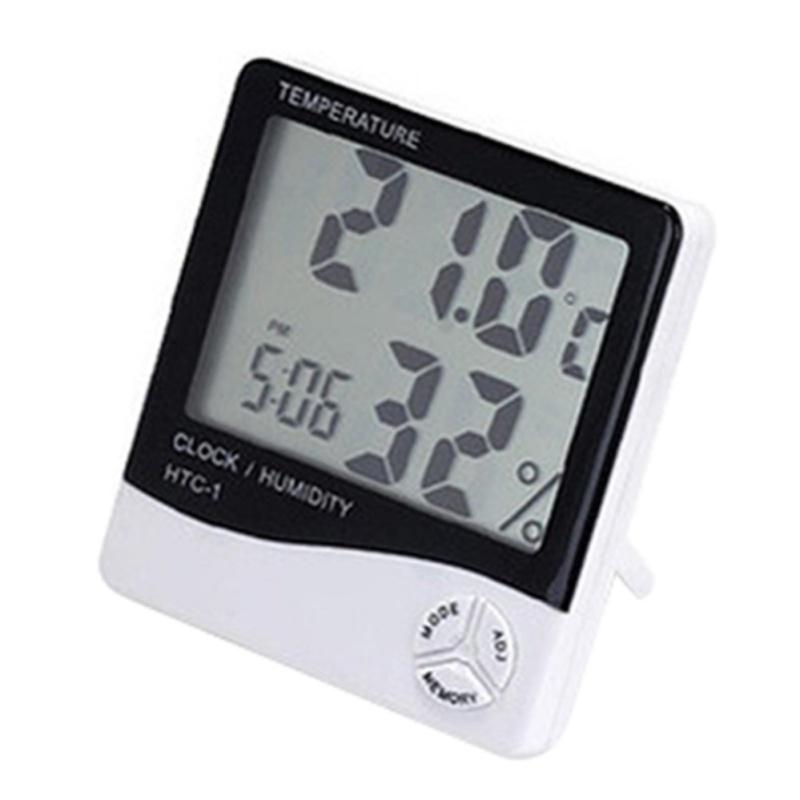 Đồng hồ đo nhiệt độ và độ ẩm HTC HQ PLaza T361I (không dây) tặng móc khóa da thật cao cấp K 550