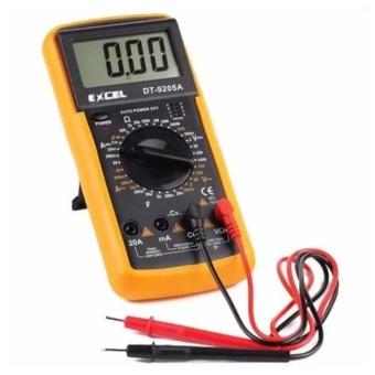 Đồng hồ đo vạn năng Excel DT-9205A (Đen phối vàng)