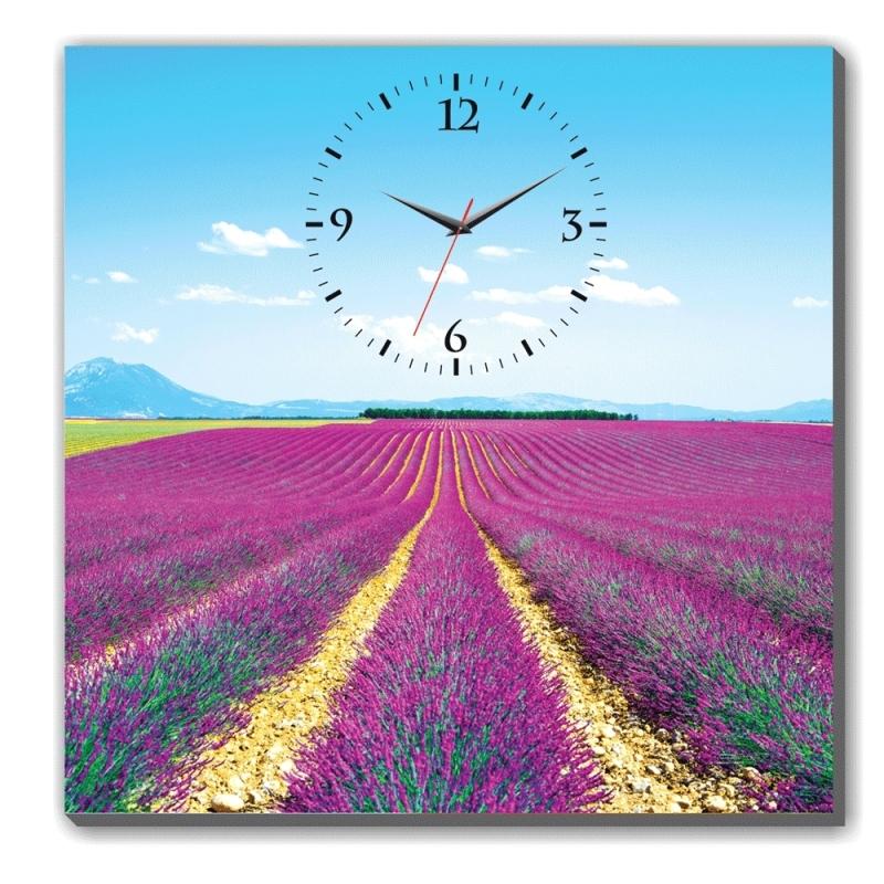 Nơi bán Đồng hồ tranh Cánh Đồng Hoa Dyvina 1T4040-4