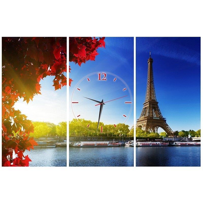 Nơi bán Đồng hồ tranh Paris mộng mơ Vicdecor DHT0208