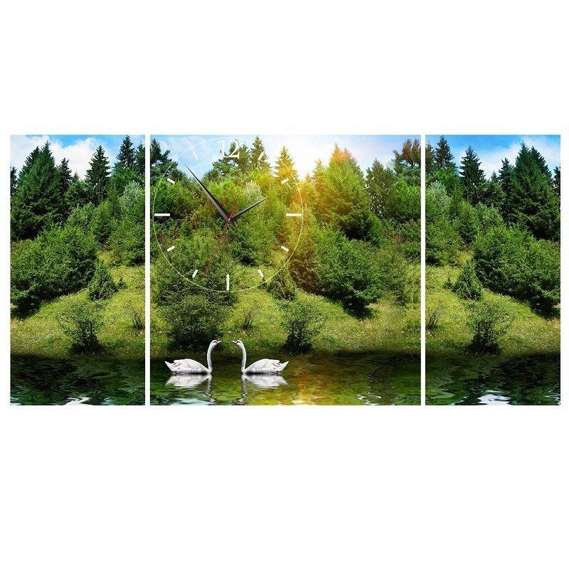 Nơi bán Đồng hồ tranh Thiên nhiên tươi đẹp Vicdecor DHT0212