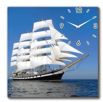 Đồng hồ tranh Thuận buồm xuôi gió Dyvina 1T4040-19