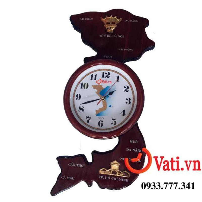 Nơi bán Đồng hồ treo tường bản đồ Việt Nam mới 100%