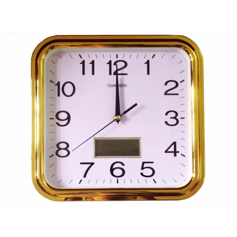 Nơi bán Đồng hồ treo tường cao cấp (Xi mạ vàng) - hàng nhập khẩu
