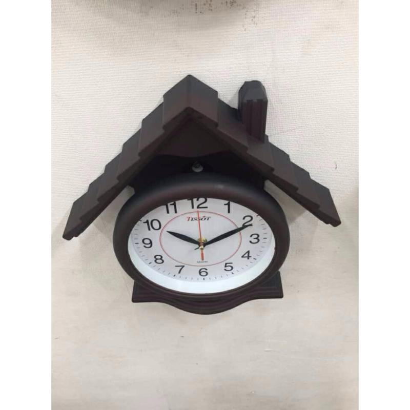 Nơi bán Đồng hồ treo tường hình ngôi nhà có ống khối Va105 - bảo hành 1 đổi 1 trong vòng 14 ngày