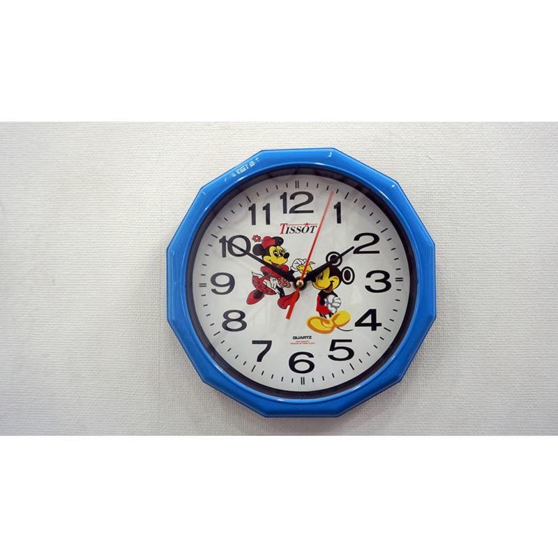 Nơi bán Đồng hồ treo tường hình tròn Vati S2 ( Xanh ) - Mới 100%