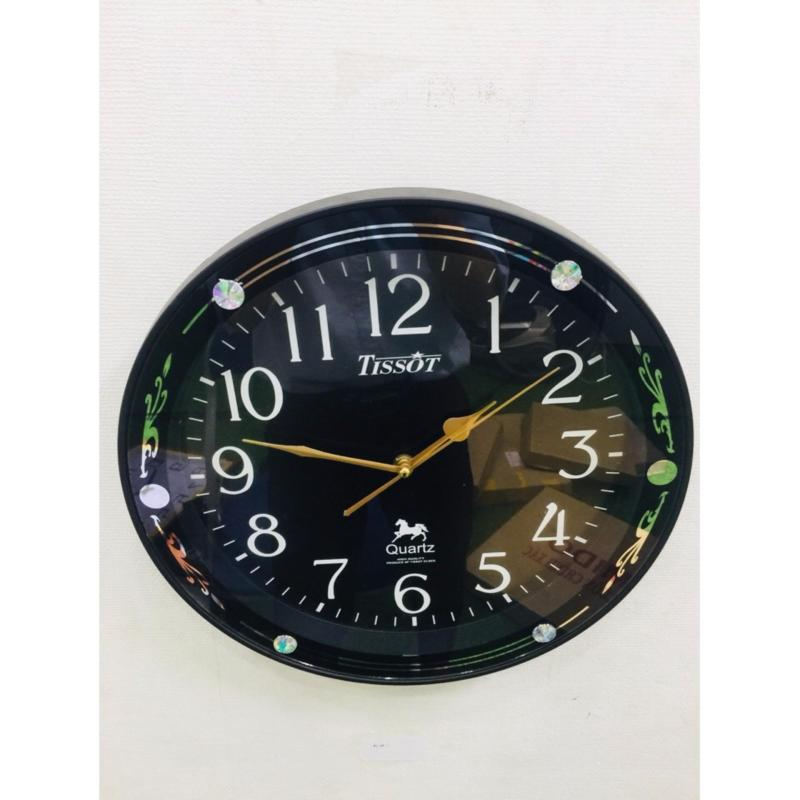 Nơi bán Đồng hồ treo tường hình tròn Vati S64 (đen) - cho phòng khách nhà bạn thêm sang trọng