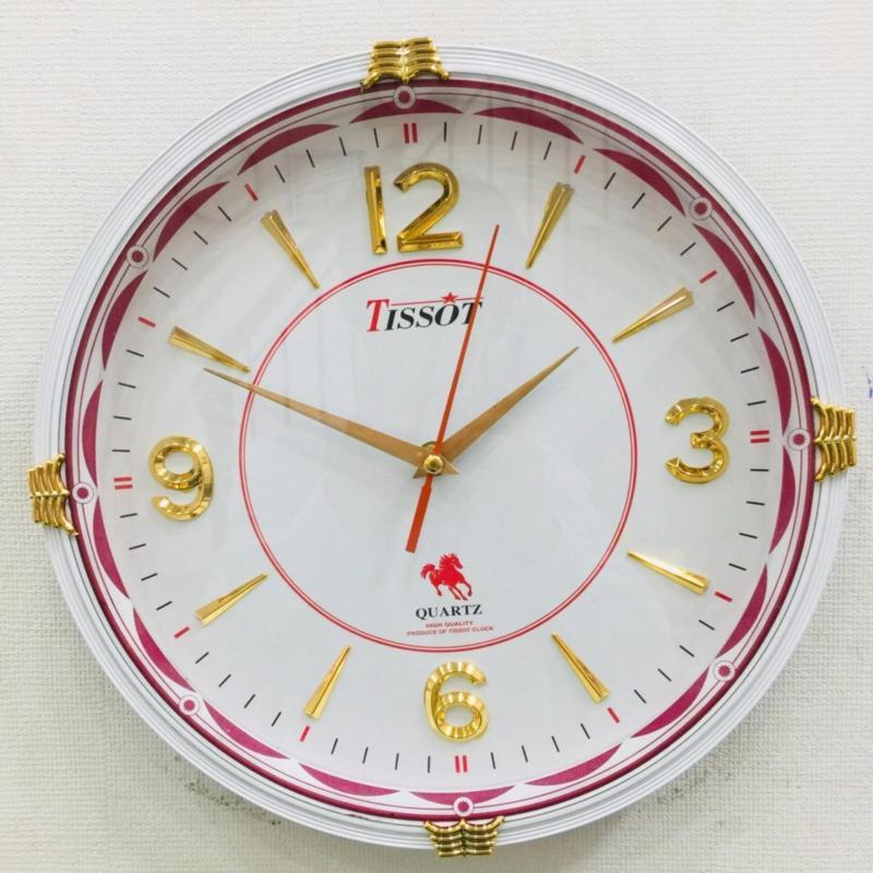 Nơi bán Đồng hồ treo tường hình tròn vati S68 - thiết kế sang trọng giá cả hợp lí