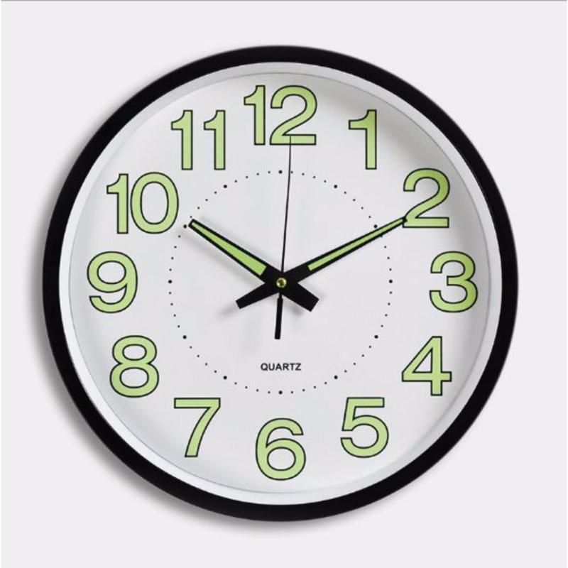 Nơi bán Đồng hồ treo tường kim trôi phát sáng ban đêm(30cm)