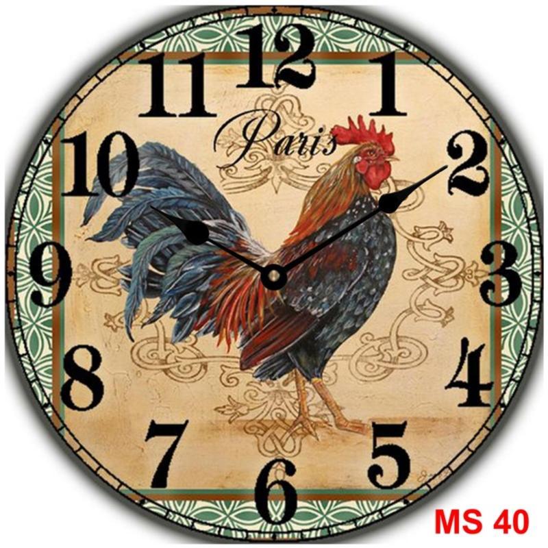 Nơi bán Đồng hồ treo tường phong cách cổ MS 40