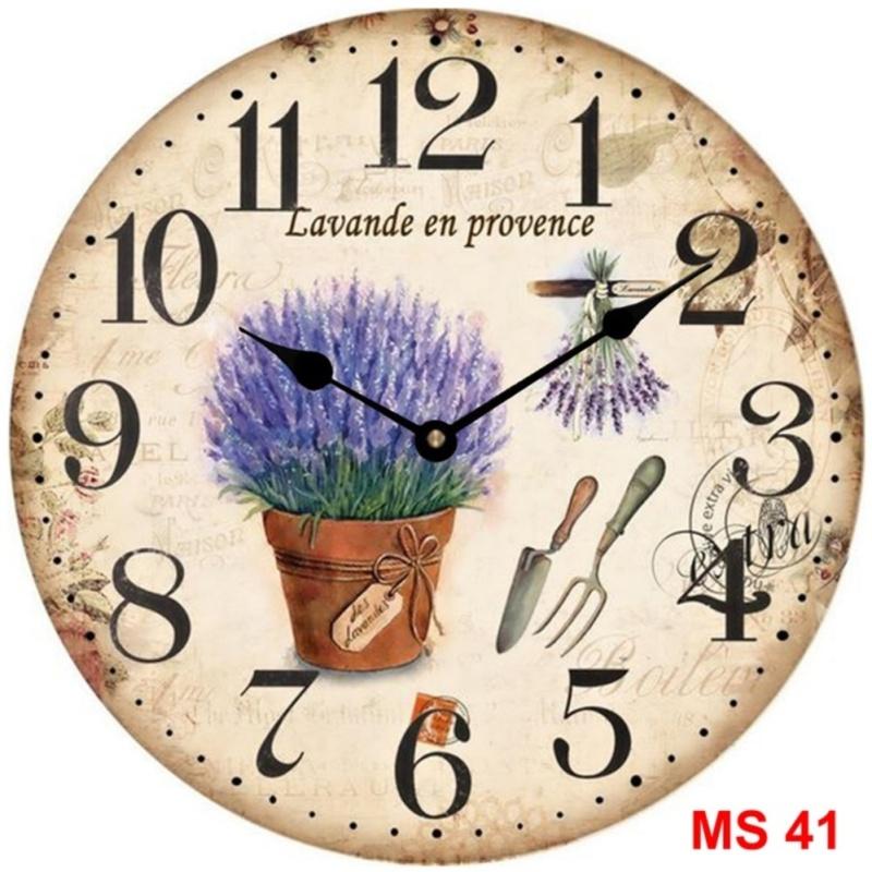 Nơi bán Đồng hồ treo tường phong cách cổ MS 41