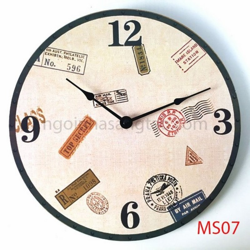 Nơi bán Đồng hồ treo tường Retro MS07
