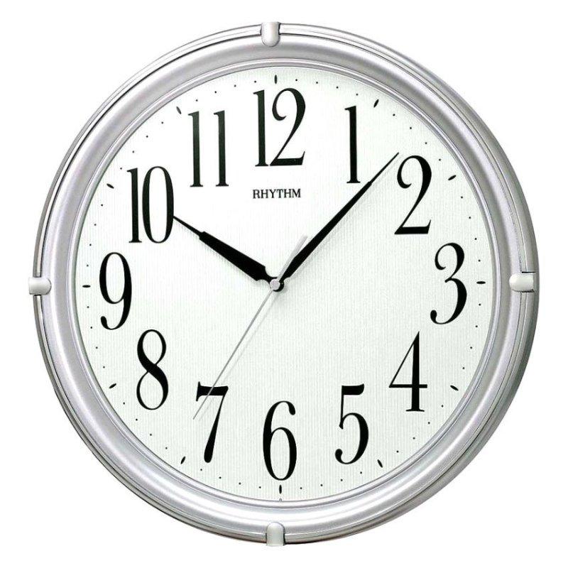 Nơi bán Đồng hồ treo tường Rhythm CMG404NR19 Basic Wall Clocks (Bạc)