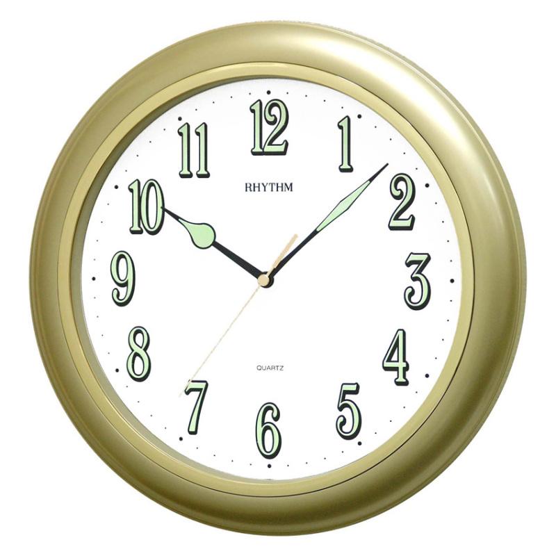 Nơi bán Đồng hồ treo tường Rhythm CMG728NR18 Value Added Wall Clocks (Vàng)