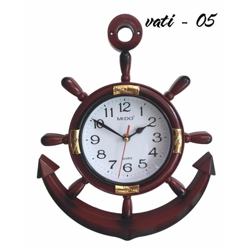Nơi bán Đồng hồ treo tường Vati đẳng cấp – sang trọng f02 (nâu)