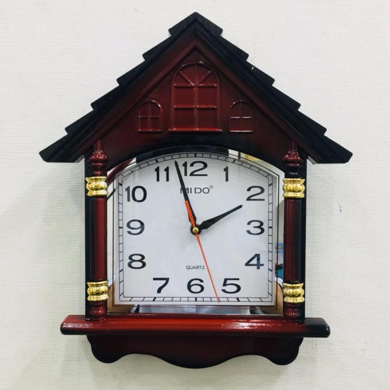 Nơi bán Đồng hồ vati treo tường đẳng cấp – sang trọng f10 (nâu)