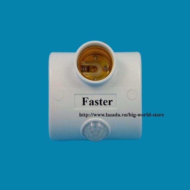 Bảng giá Mua Đui đèn cảm ứng mắt thần Faster (Trắng)