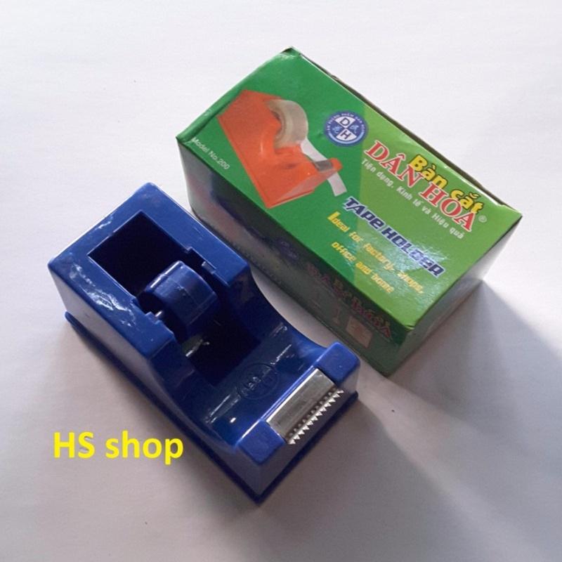 Mua Dụng cụ cắt Băng dính, Băng keo (Loại đường kính 6cm, rộng 2cm) lưỡi thép không gỉ -Để bàn nhỏ gọn tiện lợi -NPP HS shop