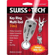 Dụng cụ đa năng Swiss+Tech Key Ring Multitool 7in1
