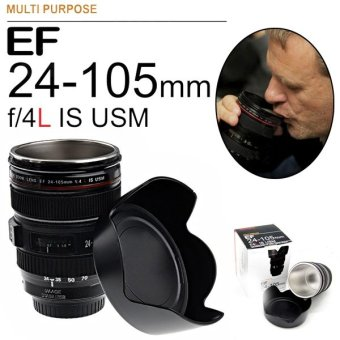 EF 24-105mm f/4L Camera Lens Shaped Stainless Steel Inner Cup -Intl