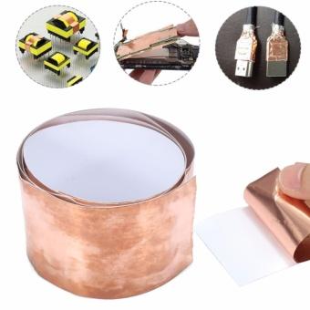 EMI Copper Foil Shielding Tape Sheet 50mm x 1m Low Impedance Conductive Adhesive - intl