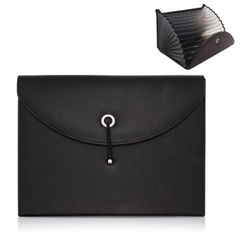 Expandable Portable Accordion File Folder Document Wallet BriefcasePU Leather Business File Organizer Bag A4 and Letter Size 13Pockets - intl - 8522232 , OE680HLAA6IZ3DVNAMZ-12019804 , 224_OE680HLAA6IZ3DVNAMZ-12019804 , 518000 , Expandable-Portable-Accordion-File-Folder-Document-Wallet-BriefcasePU-Leather-Business-File-Organizer-Bag-A4-and-Letter-Size-13Pockets-intl-224_OE680HLAA6IZ3DVNAMZ-1